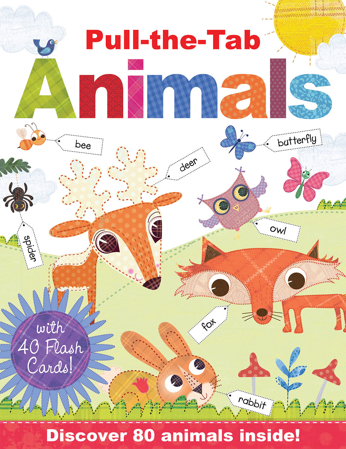 PULL-THE-TAB ANIMALS WITH FLASH CARDS