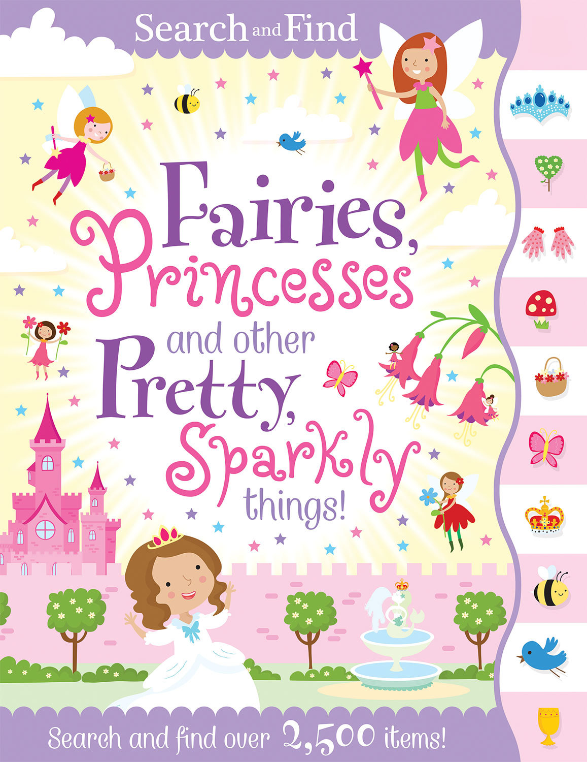 SEARCH AND FIND PRINCESS AND FAIRIES