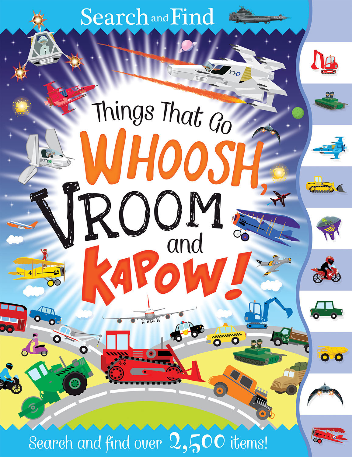 THINGS THAT GO WHOOSH, VROOM AND KAPOW!