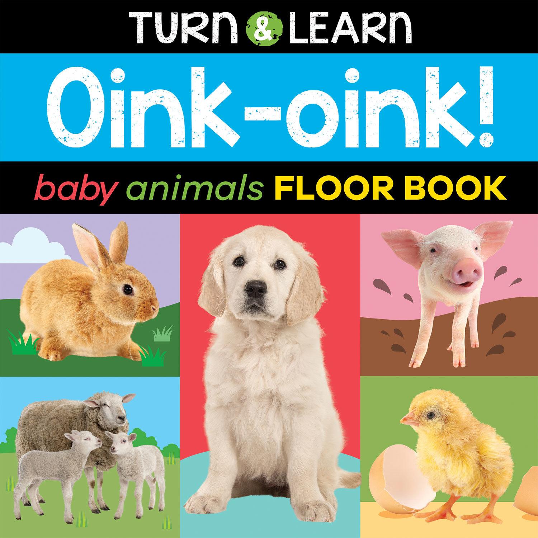 BABY ANIMALS FLOOR BOOK
