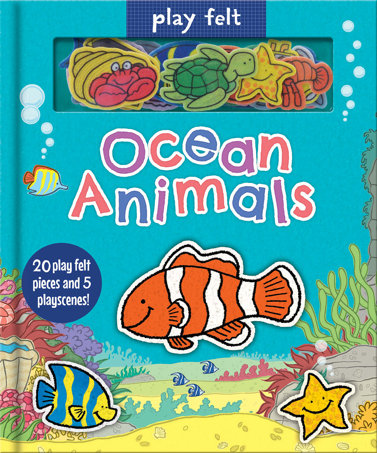 PLAY FELT OCEAN ANIMALS
