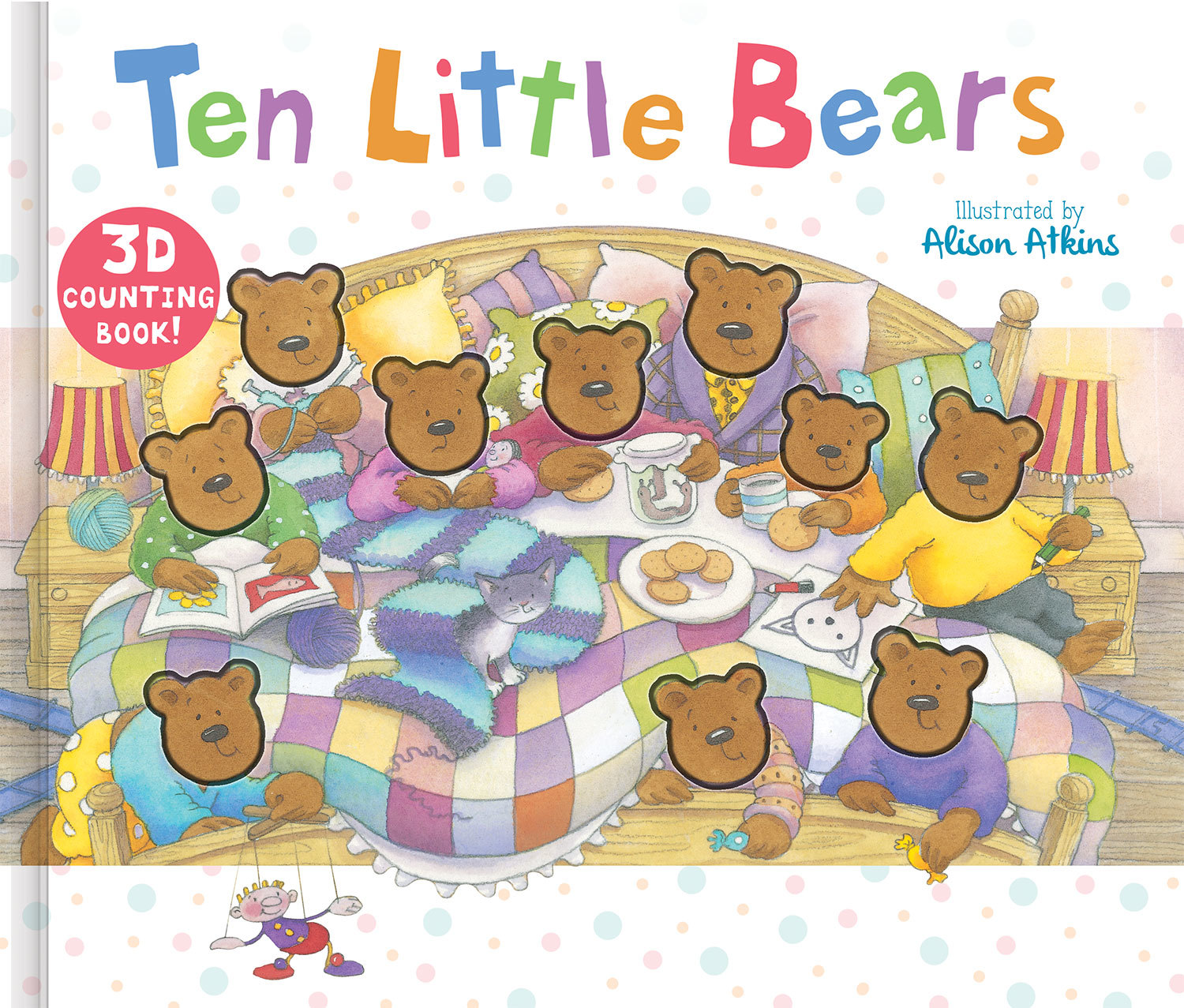 THERE WERE TEN BEARS IN A BED