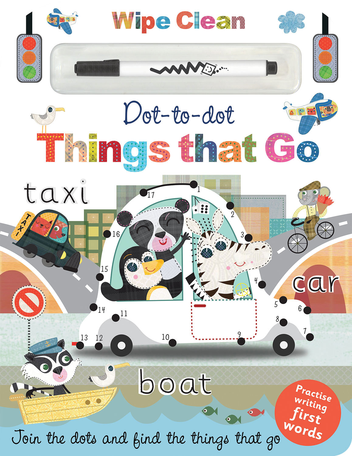 DOT TO DOT THINGS THAT GO