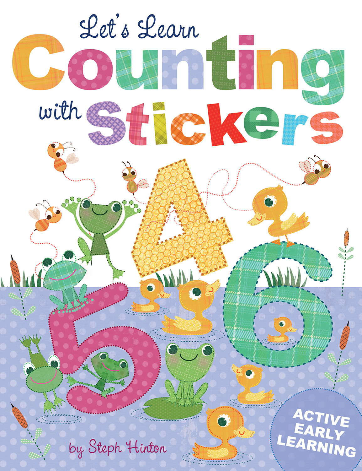 LET'S LEARN COUNTING WITH STICKERS