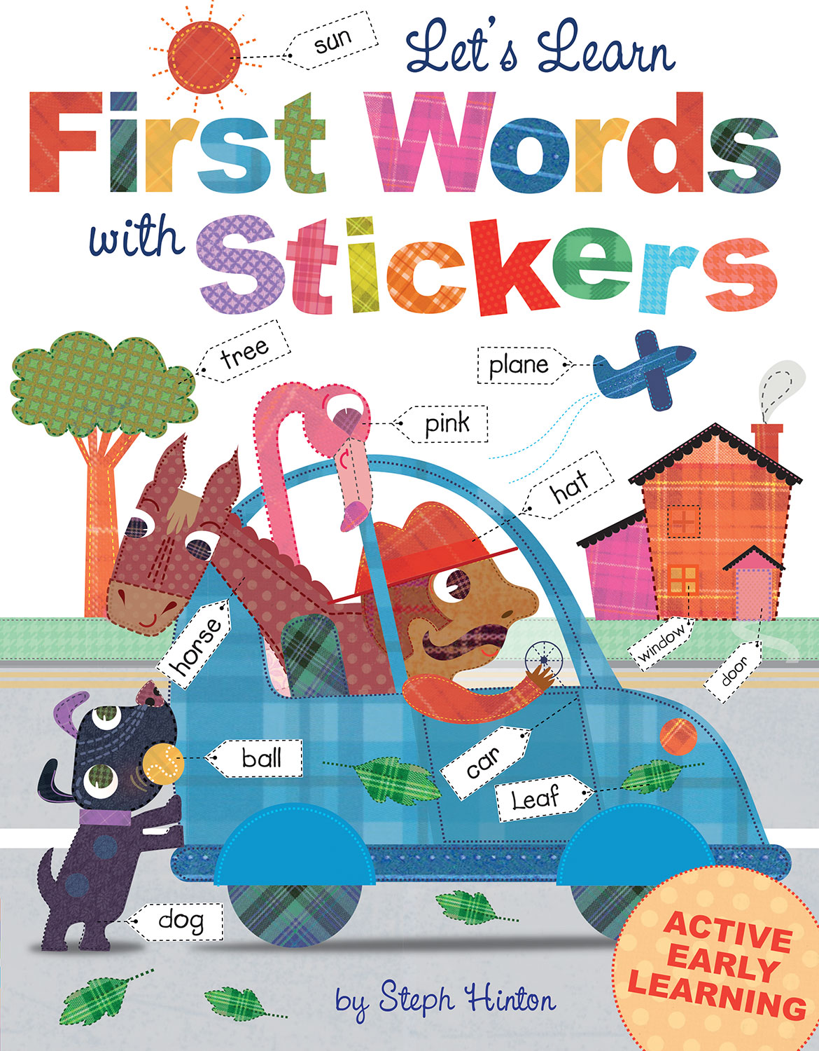 LET'S LEARN FIRST WORDS WITH STICKERS
