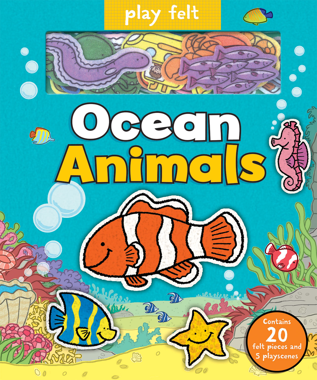 PLAY FELT OCEAN ANIMALS