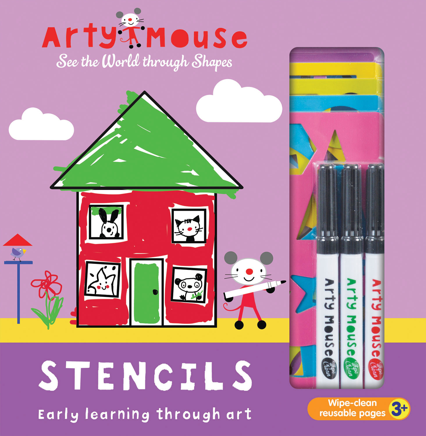 Arty Mouse Stencils