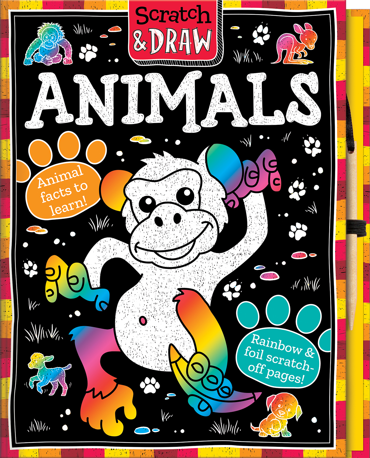SCRATCH AND DRAW ANIMALS