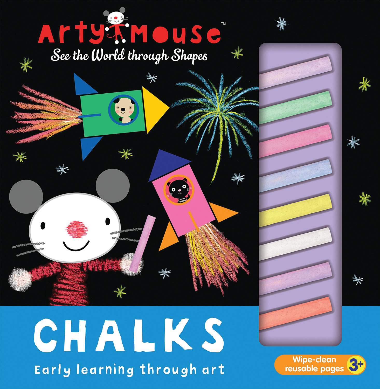 ARTY MOUSE CHALKS