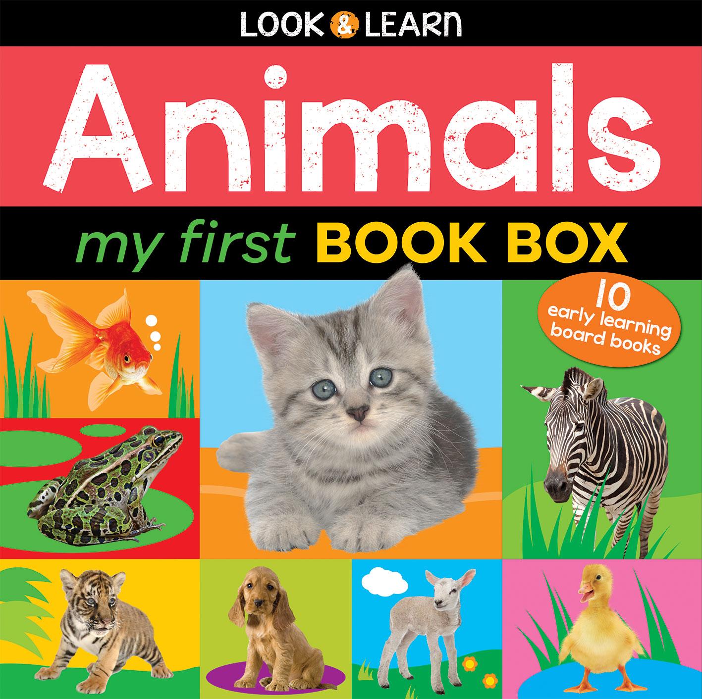 ANIMALS MY FIRST BOOK BOX
