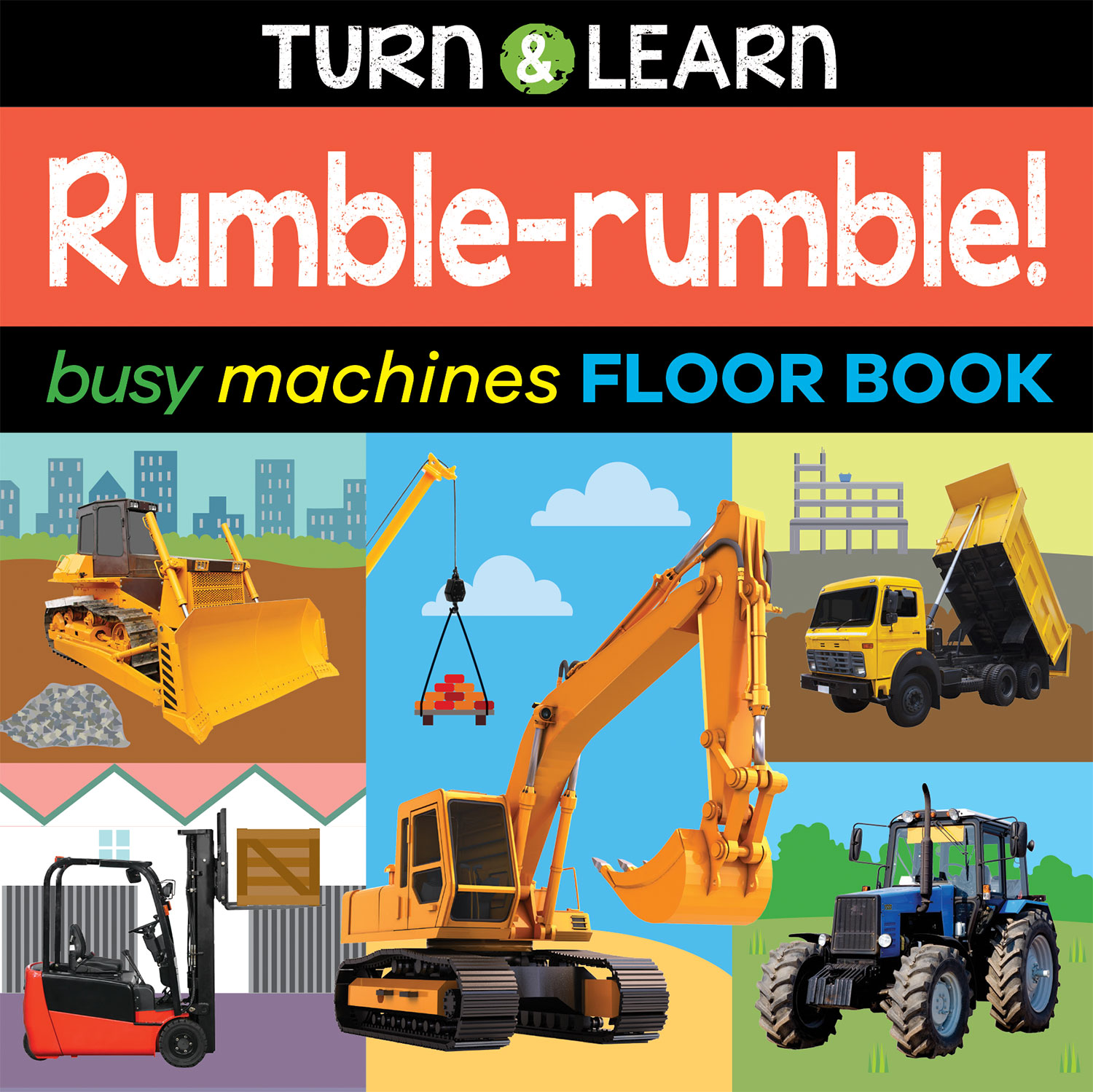 BUSY MACHINES FLOOR BOOK