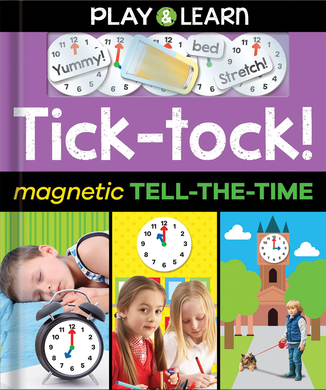 TICK-TOCK! MAGNETIC TELL-THE-TIME