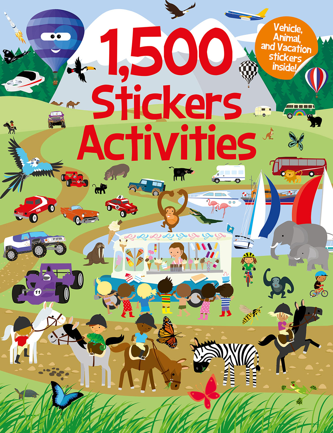 Sticker Books Archives Imagine That Activity My Pretty Pink 1500 Stickers Activities