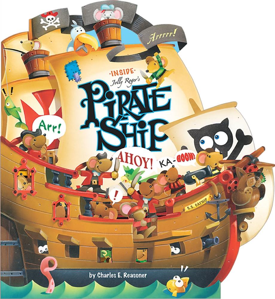 inside jolly roger u0027s pirate ship top that publishing