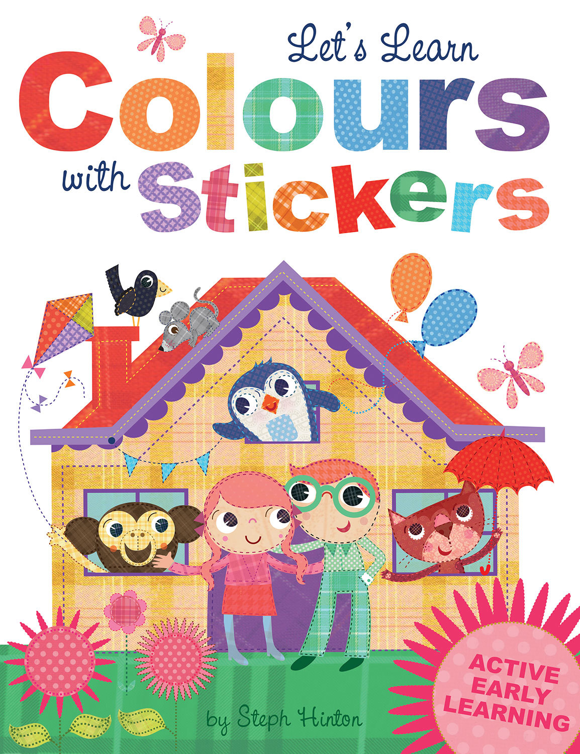 LET'S LEARN COLOURS WITH STICKERS