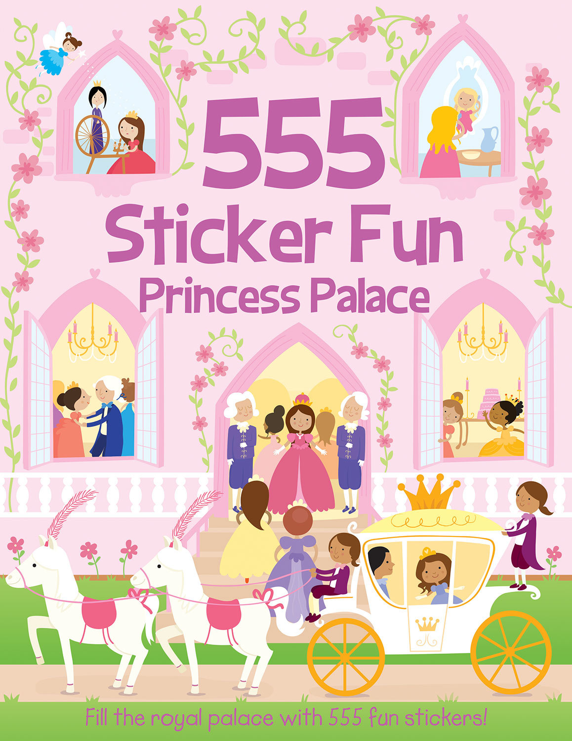 555 STICKER FUN PRINCESS PALACE