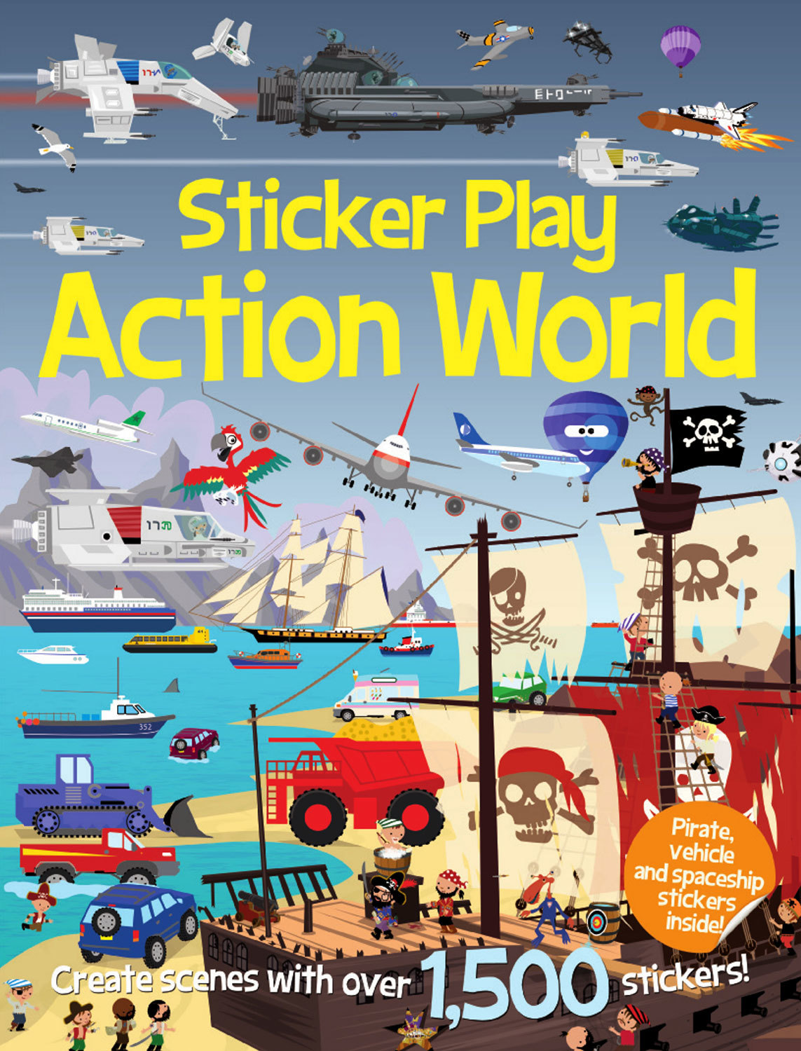 STICKER PLAY ACTION WORLD